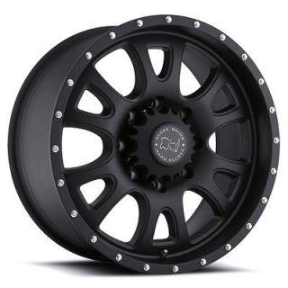 Rhino Lucerne Black Truck Wheel/Rim(s) 6x139.7 6 139.7 6x5.5 17 9