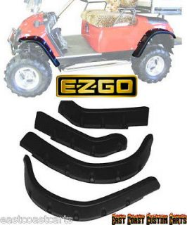 EZGO TXT Golf Cart FENDER FLARES set of 4 (FAST )