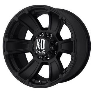 18x9 KMC XD Revolver Black Wheel/Rim(s) 8x165.1 8 165.1 8x6.5 18 9