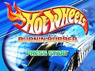 Hot Wheels Burnin Rubber Nintendo Game Boy Advance, 2001