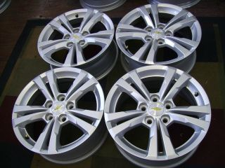 2013 Chevy Equinox 2013 Chevy Malibu 17x7 Factory Alloy Wheels Rims