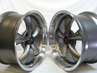 Mustang ® Bullitt Wheels 18x9 & 18x10 inch 2005   2013, 18 inch Rims