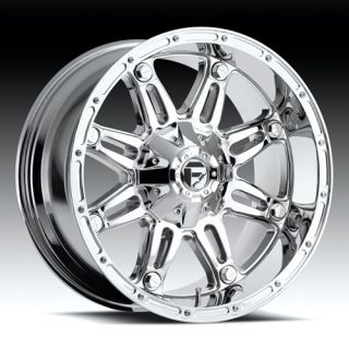 22 Wheels Rims Fuel Hostage Chrome RAM Aspen Durango