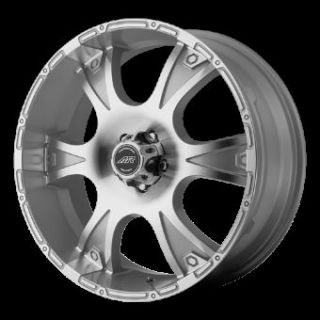 18 Wheels Rims American Racing Dagger Silver RAM 1500 Durango Dakota