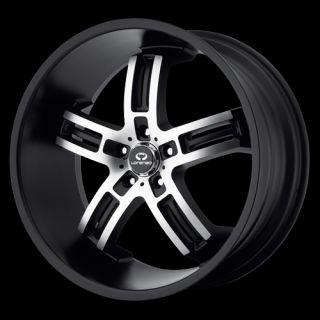 22 Lorenzo WL26 Set of 4 Wheels Rims Blow Out Audi Mercedes Jetta AMG