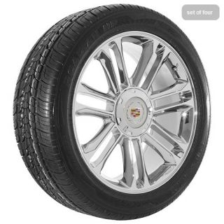 20 2012 Cadillac 2012 Escalade platinum edition chrome wheels rims and