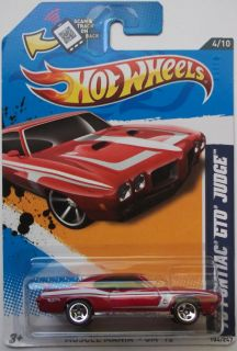 2012 Hot Wheels 70 Pontiac GTO Judge Col 104  Exclusive