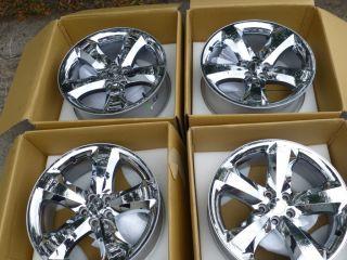 Challenger Charger SRT8 20 Factory Chrome Aluminum Rims Wheels