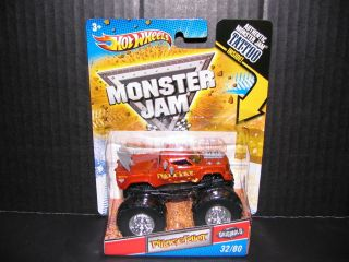 2011 Hot Wheels Monster Jam Pillage Idiot 32 80 Monster Truck 1 64th