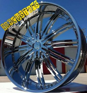 22 inch Rims Wheels Tires RSW99 6x135 Lincoln Navigator 2009 2010