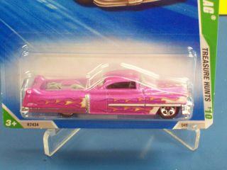 2010 Hot Wheels Treasure Hunt Custom 53 Cadillac