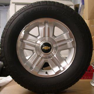 2012 Chevy Z71 Z 71 Silverado Tahoe Suburban Avalanche 18 Wheels Rims