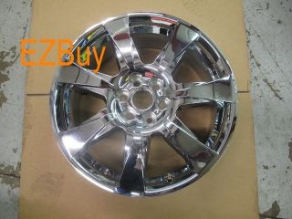 20 Cadillac SRX 2010 2011 2012 Factory Chrome Clad Wheel Rim 4666