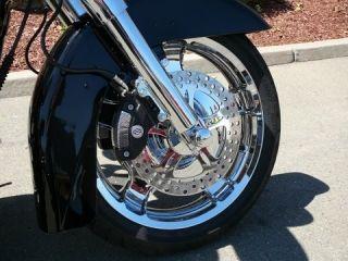 Chrome Street Ultra Glide Wheels 2009 2012 FLHX FLHR 18 Fr 16R