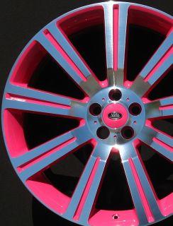 Rover Wheels Rims Custom Color Brand New Stormer 22 2010 2011