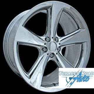 21 9 10 Chrome Alloy Wheels for 2002 2008 BMW 6 7 Series 645 650 745