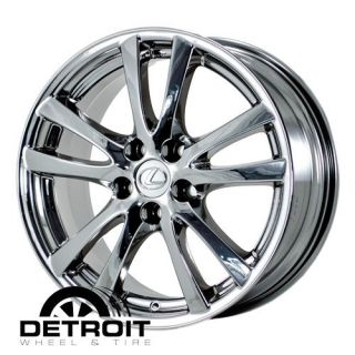 IS250 IS350 2006 2008 PVD Bright Chrome Wheels Rims Factory 74189