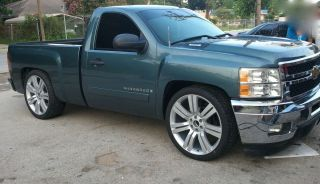 CHEVY SILVERADO 24 WHEELS RIMS FIT 2007 2008 2009 2010 2011 TAHOE 22