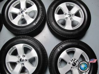 Four 2011 Jeep Grand Cherokee Factory 18 Wheels Tires Rims Michelin