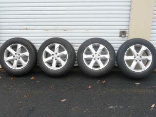 2009 2010 Nissan Murano 18 5 Spoke Factory Alloy Wheel Rims Tires