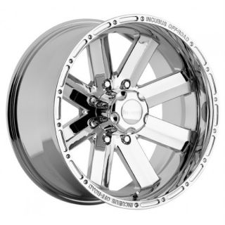 18 inch Incubus Recoil Chrome Wheels Rims 6x5 5 6x139 7 Tahoe