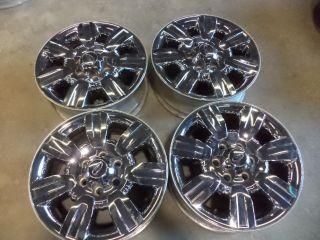 Ford F 150 18 inch Chrome Clad Alloy Wheels 2009 2010 2011 2012