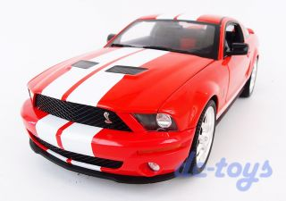 Hot Wheels Elite 2007 Shelby Mustang GT500 1 18 Diecast Red