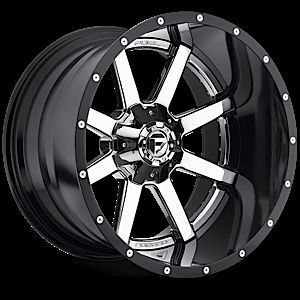 Maverick 2pc Wheel Set Chrome 22x14 4x4 Rims 2piece Wheels