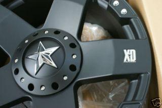 18 inch Black KMC XD Rockstar Rockstars Wheels Rims