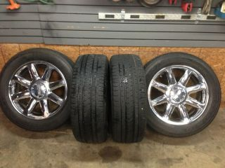2009 Yukon Denali 20 Wheels and Tires 2007