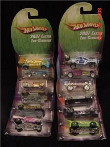 2007 Hot Wheels Easter Egg Clusives Set 12 Wal Mart HW