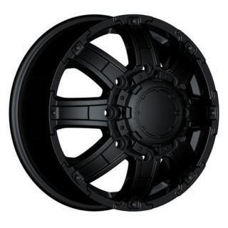 Ultra Wheels 024 Gauntlet Dually 8x210 17 Black New Chevy GMC