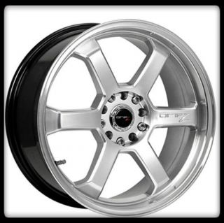HOLESHOT 303H 5X4 5 100 PT CRUISER INTEGRA IMPREZA SILVER WHEELS RIMS