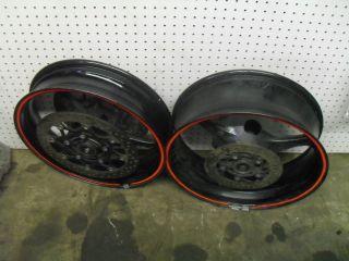 GSXR 600 750 GSX600R GSX750R Rim Rims Wheel Set 06 07 2006 2007