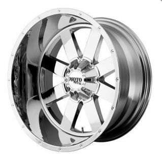 12 Moto Metal MO962 8x6 5 Suburban RAM1500 F250 F350 Chrome Wheels