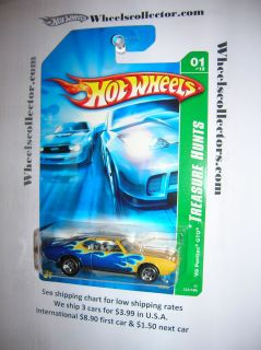 69 Pontiac GTO 01 Thunt Hot Wheels 2007 Reg Treasure Hunt