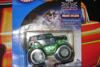 Hot Wheels Monster Jam 2000 Grave Digger Hard to Find 12 Years Old