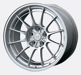 18 Enkei NT03 M Silver Rims Wheels 18x9 5 40 5x114 3 STI