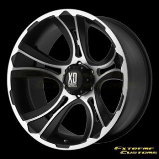 XD Series XD801 Crank Chrome 5 6 8 Lugs Wheels Rims Free Lugs