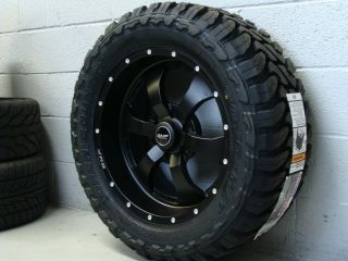 20 BMF Wheels Novakane Stealth Black 33x12 50R20 33x12 50 20 Toyo MT