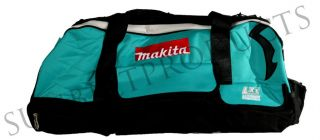 New Makita 18V LXT702 Tool Bag/Box with Wheels, Handle, and 13 Pockets