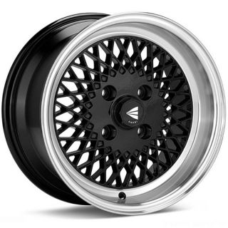15 Enkei E92 Mesh Wheels Rims JDM Old School Civic Integra CRX Miata