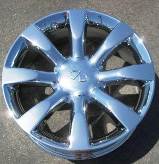 New 20 Infiniti FX45 FX35 Chrome Wheels Rims Murano Maxima M35 M45