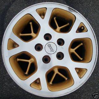 16 96 97 98 Jeep Grand Cherokee Alloy Wheel Rim Gold