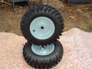 Craftsman 4 80 8 Snowblower Thrower Tires Rims Pair