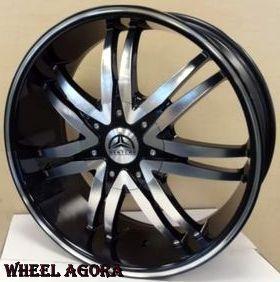 26 inch Wheels Rims Tires B14 M Escalade Tahoe Suburban Denali Yukon