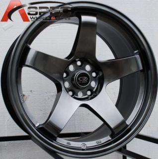 18x9 5 Rota P45R Rims Mitsubishi EVO Nissan 350Z Wheels