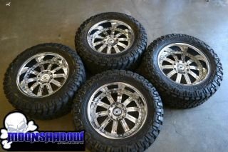 H2 ASANTI AF 134 22 WHEELS WITH NITTO TRAIL GRAPPLER TIRES 37/13.5/22