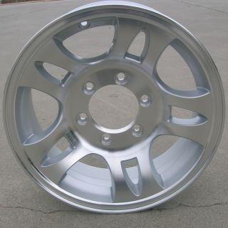 Aluminum Type T03 Trailer Wheels Rims 6 Lug on 5 5 Split Spoke