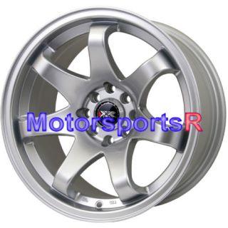 522 Hyper Silver Concave Rims Wheels 71 Datsun 240z 260z 280z 280zx
